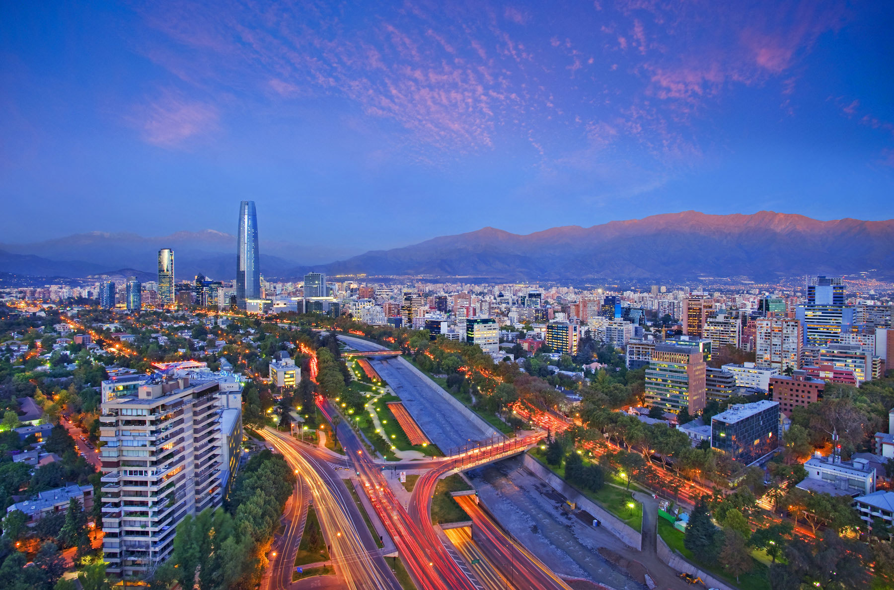 Attractions in Santiago de Chile